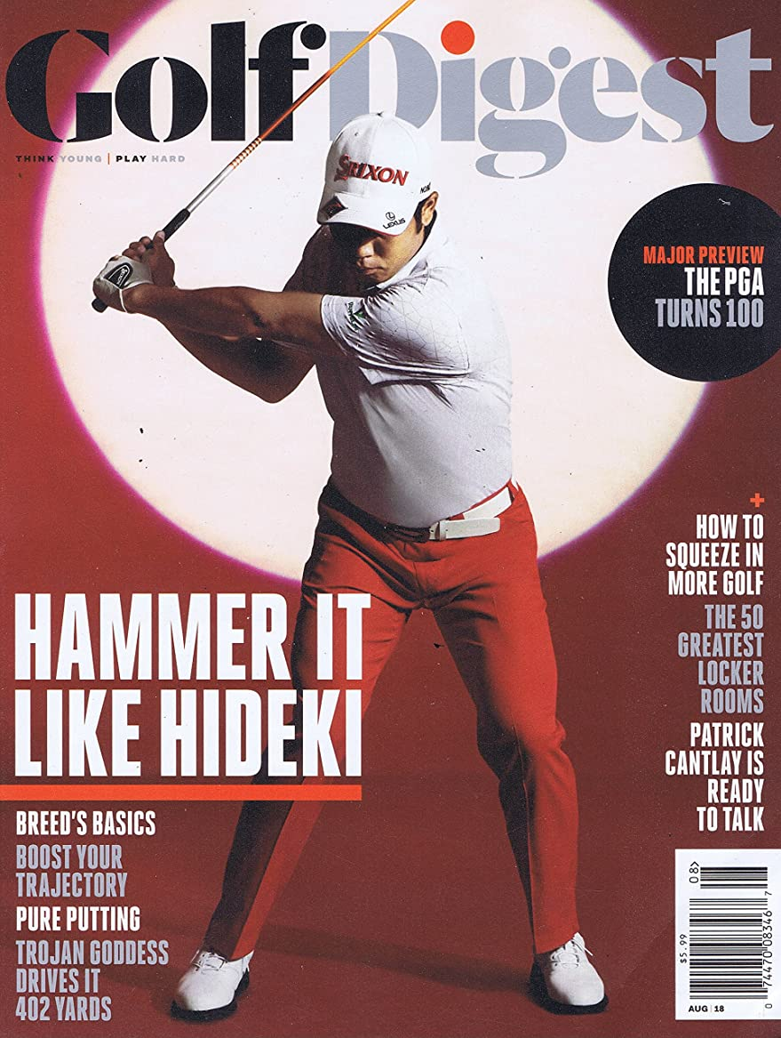 ニコチン染料スポーツの試合を担当している人Golf Digest [US] August 2018 (単号)