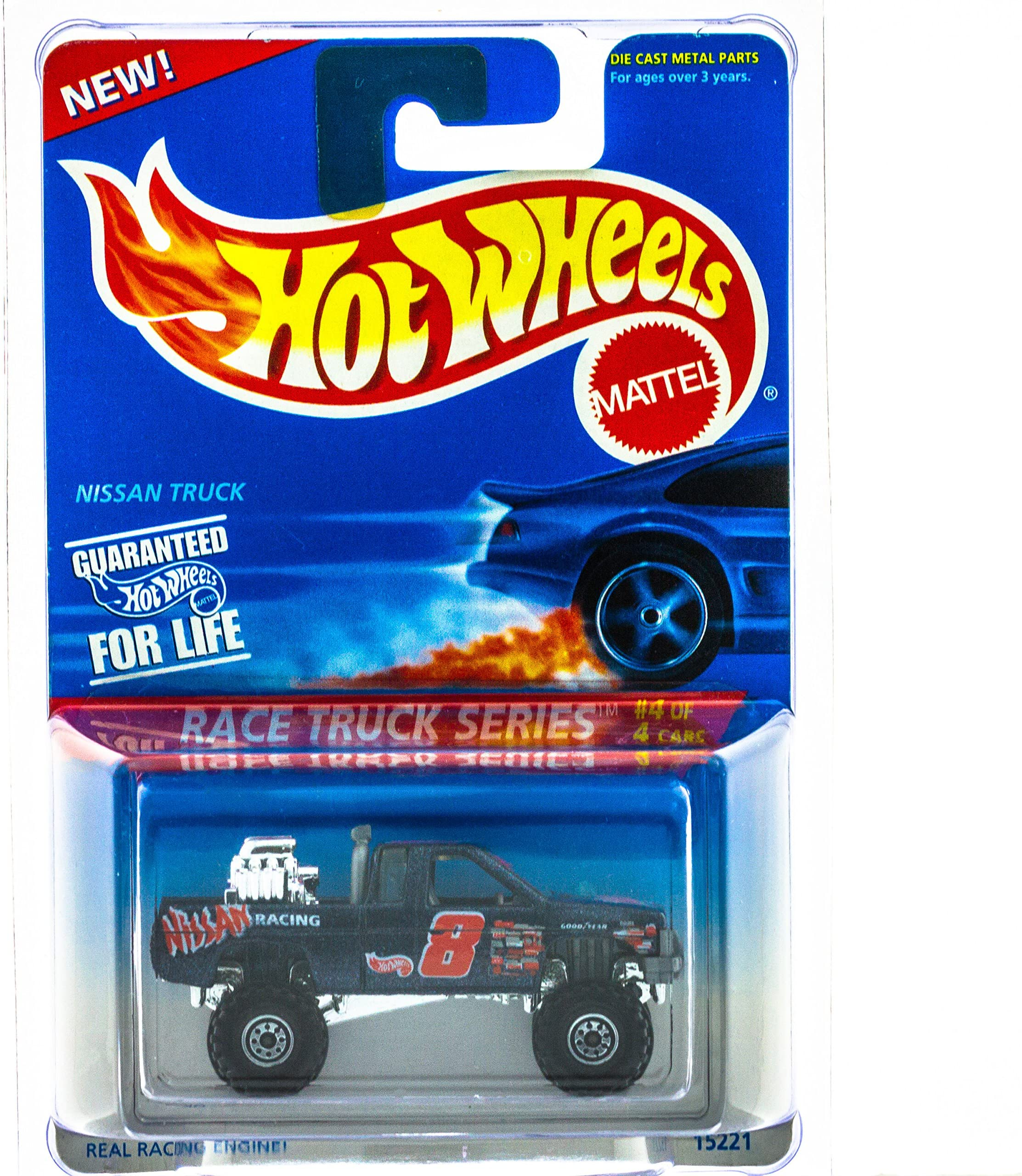Hot Wheels Blue Nissan Truck Blue Streak Series #574 Rare Toys ...