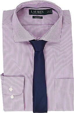 LAUREN Ralph Lauren Classic Fit Estate Collar with A Pocket Dress Shirt