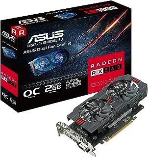 ASUS Radeon RX 560 16CU 2GB OCエディション GDDR5 DP HDMI DVI AMD グラフィックスカード (RX560-O2G)