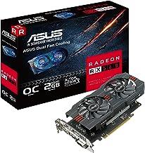 ASUS Radeon RX 560 16CU 2GB OC Edition GDDR5 DP HDMI DVI AMD Graphics Card (RX560-O2G)