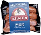 Aidells Smoked Chicken Sausage, Chicken & Apple, 12 oz. (4 Fully Cooked Links)