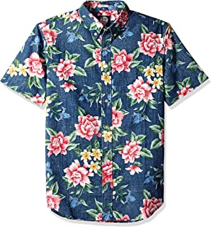 1d958033 Reyn Spooner Men's Weekend Wash Tailored Fit Hawaiian Shirt