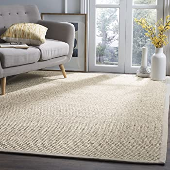 Safavieh Natural Fiber Collection NF525C Marble Sisal Area Rug (8' x 11')