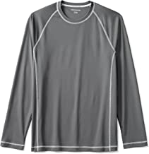 Amazon Essentials Men's Long-Sleeve Loose-Fit Quick-Dry UPF 50 Swim Tee