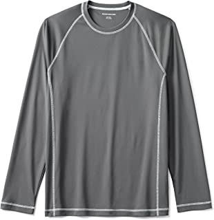 Men's Long-Sleeve Loose-Fit Quick-Dry UPF 50 Swim Tee