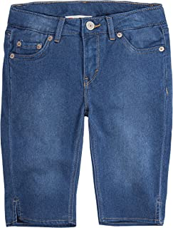 Levi's Girls' Super Soft Denim Bermuda Shorts