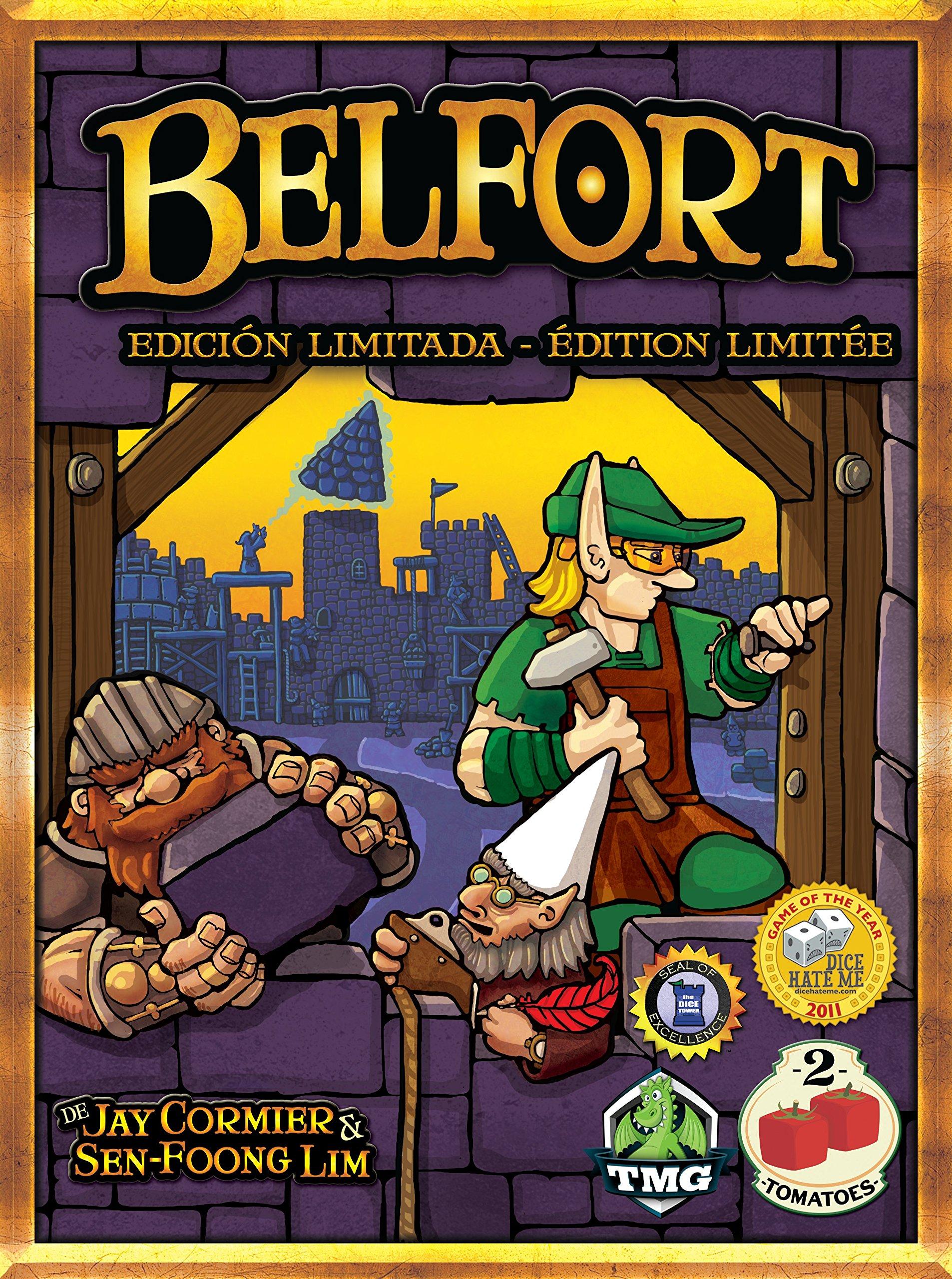 2 tomatoes - Belfort Edición Coleccionista, Juego de Mesa: Amazon.es: Juguetes y juegos
