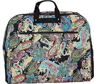 World Traveler World Traveler 40-inch Hanging Garment Bag - Multi Paisley, Multi Paisley (Multi) - 81GM40-181