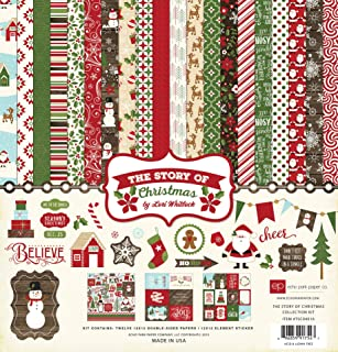 Echo Park Paper Company TSC94016 The Story of Christmas Collection Kit