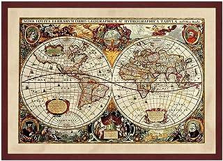 Cartina Geografica Antica.Amazon It Mappe Antiche