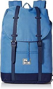 Herschel Retreat Backpack, Riverside/Peacoat, Mid-Volume 14.0L, Retreat Backpack