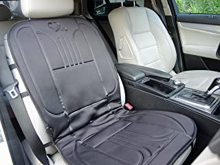skrskr Heated Massage Car Seat Cover 12V Car Smart Seat Cushion with Heating for Winter//Cooling for Summer//Vibrating Massage for Driving WithTemperature Controller