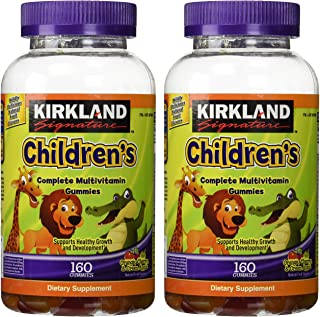 Kirkland Signature Children's Complete Multivitamin Gummies, 320 Count