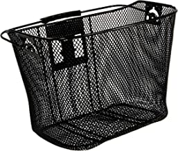Schwinn Wire Basket for Bikes with Quick Release, Black
