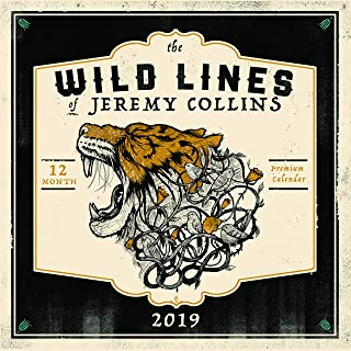 The Wild Lines of Jeremy Collins: 2019 Wall Calendar