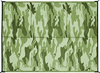 Camco Design 42886 Reversible Camouflage Outdoor Mat-6' X 9'