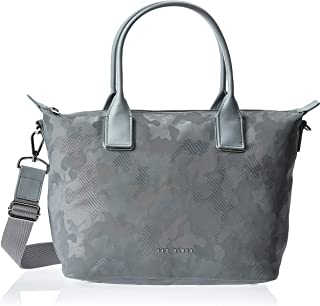 TED BAKER TOTE BAG Silver