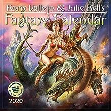 Boris Vallejo & Julie Bell's Fantasy Wall Calendar 2020