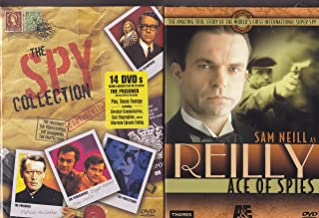 Reilly Ace of Spies 4 Dvd Mini Series , A&E Untimate Spy Collection 14 Dvd Set : Total 18 DVD Box Set - Over 49 Hours
