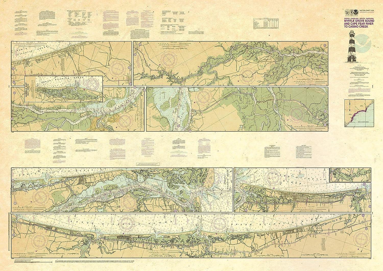 Paradise Cay Publications NOAA 1 year warranty Intracoastal Waterwa Chart Boston Mall 11534: