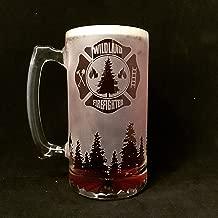 Wildland Firefighter, Fire Department, Beer Stein, Fireman Gift, Fireman gifts, Firefighter gift, Firefighter gifts, Beer stein, Firefighter retirement, Firefighter graduation, Fireman retirement gift