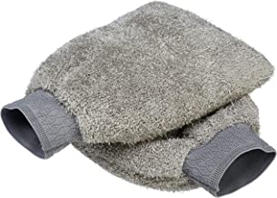 AmazonBasics Microfiber Car Wash Mitt (Pack of 2)
