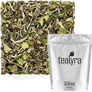 Sponsored Ad - Tealyra - Imperial Grade White Peony - Bai Mu Tan - Fresh White Loose Leaf Tea - Organically Grown - Low Ca...