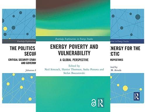 Routledge Explorations in Energy Studies (12 Book Series)