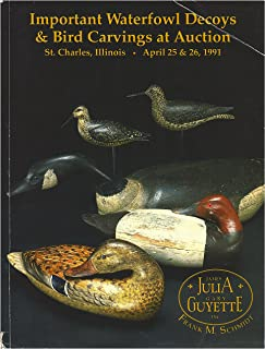 Important Waterfowl Decoys & Bird Carvings at Auction, Hugh Turnbull Collection, April 25 & 26, 1991