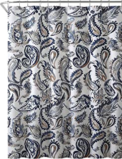 Best navy blue paisley shower curtain Reviews