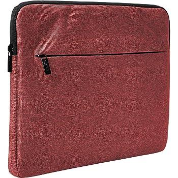 """Amazon Basics Laptop Sleeve with Front Pocket, 15"""", Maroon"""