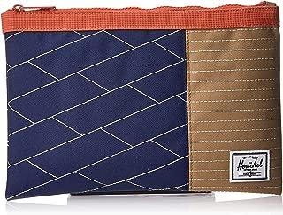 Herschel Network Large Unisex Wallet, Medieval Blue/Kelp/Apricot Brandy