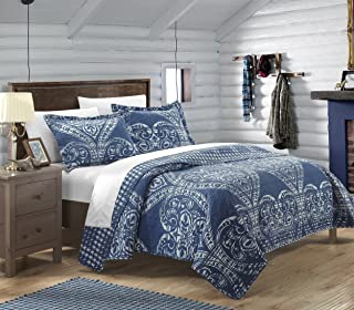 Best navy paisley quilt Reviews