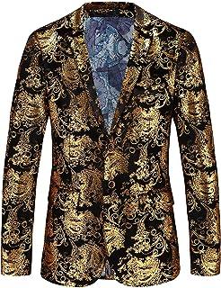 Amazon.es: Dorado - Chaquetas de traje y americanas / Trajes ...