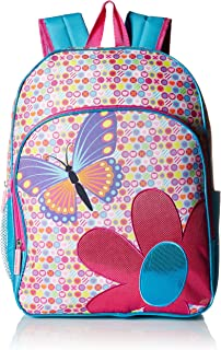 Pink Platinum Girls' Butterfly 16 Inch Backpack, Pink