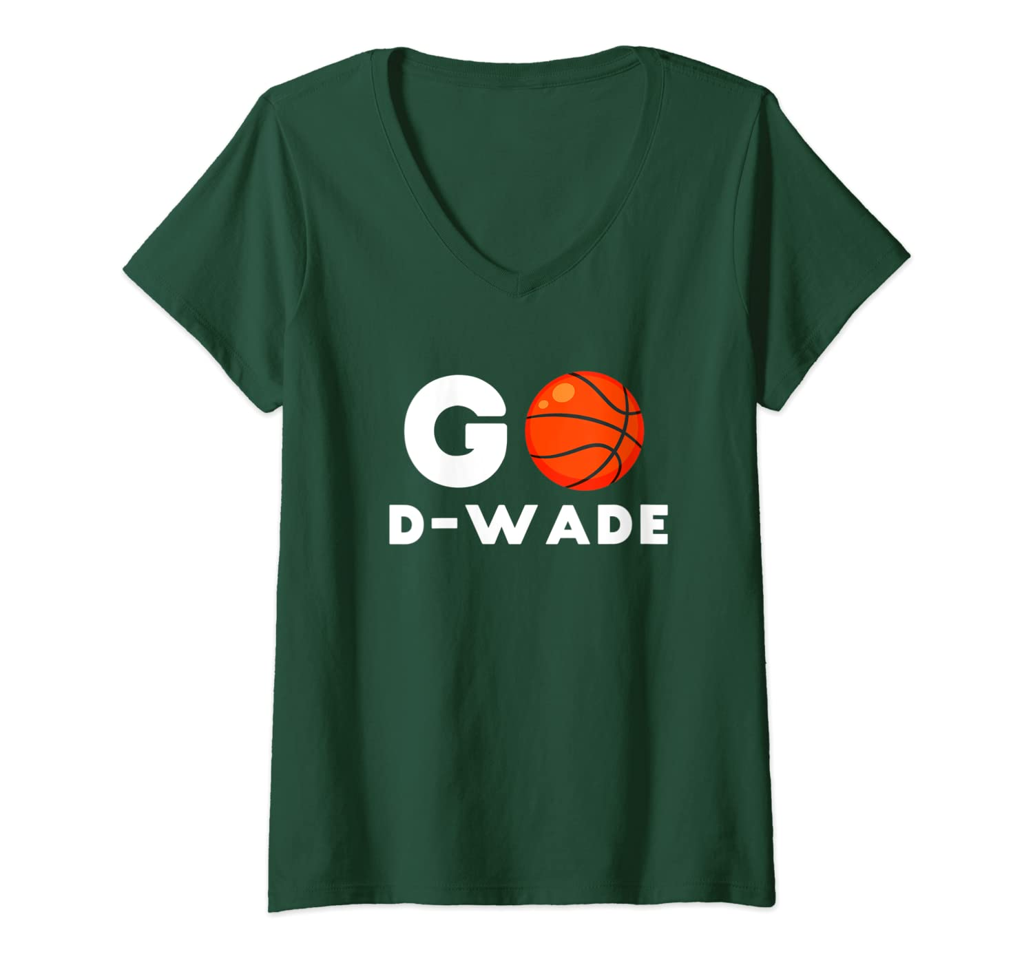 innovative design 22217 4674f Amazon.com: Womens Go D-Wade T-Shirt Dwyane Tee Shirt Flash ...