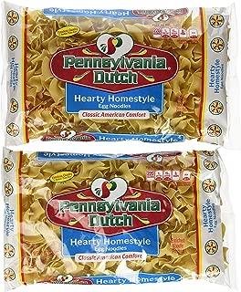 Pennsylvania Dutch Hearty Homestyle Egg Noodles, 12 Oz. Bag (Quantity of 2)