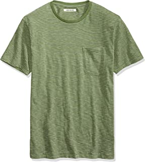 Amazon Brand - Goodthreads Men's Lightweight Slub Crewneck Pocket T-Shirt