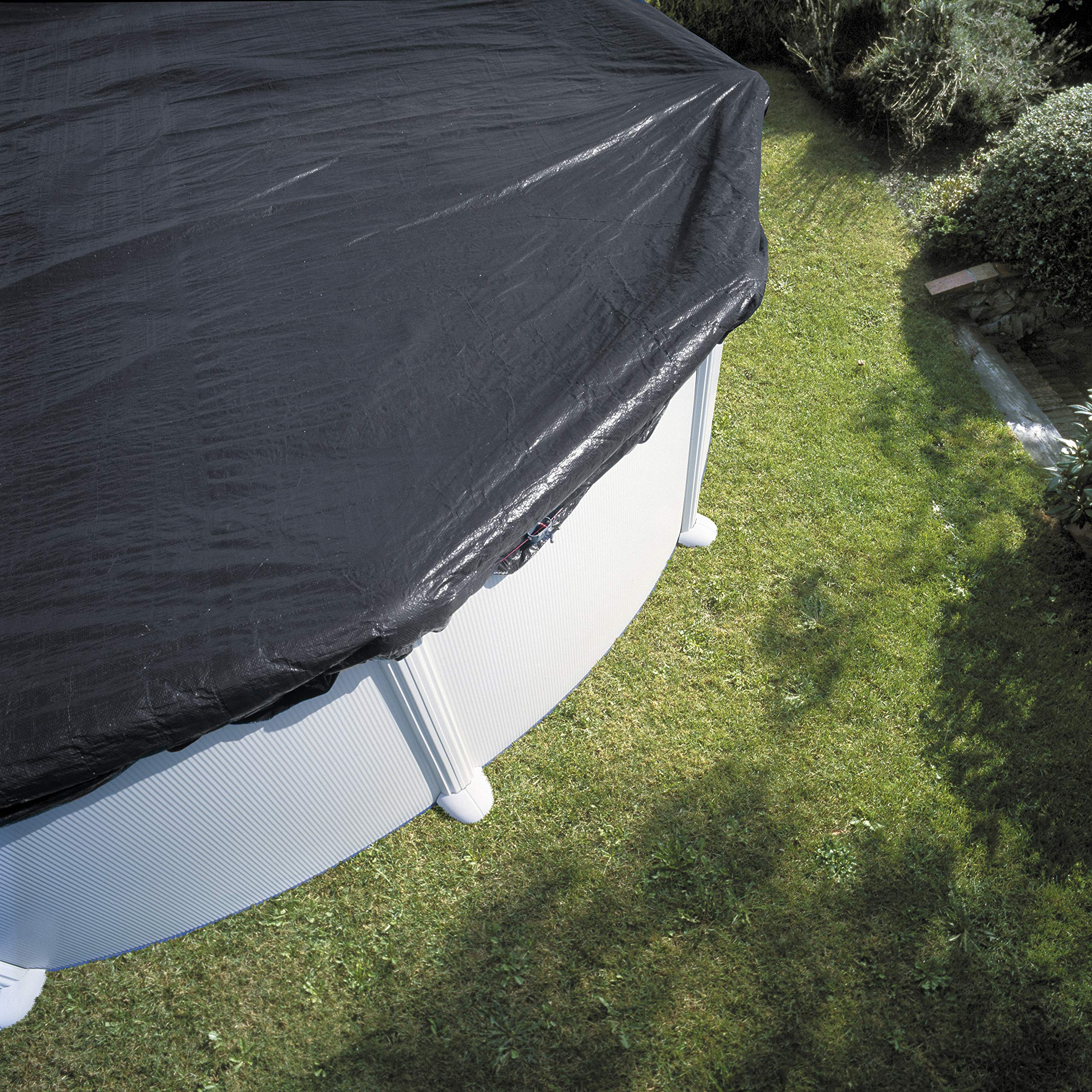 Gre CIPR651 - Cobertor de Invierno para Piscina Redonda de 640 cm ...