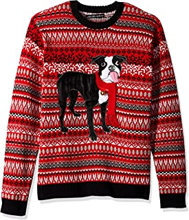 Blizzard Bay Men's Ugly Christmas Sweater Dogs