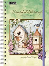 Lang 2017 Bountiful Blessings Spiral Engagement Planner, 6 x 9 inches (17991011083)