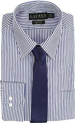 LAUREN Ralph Lauren - Bengal Stripe Spread Collar Classic Button Down Shirt