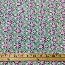 deco state flower fabric