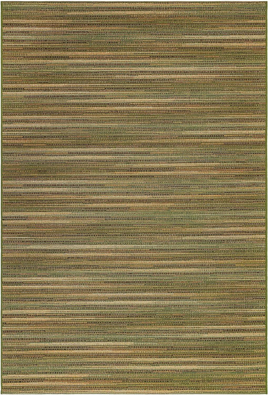 Choice Liora Manne Marina Stripes Green Indoor x Area 2'7