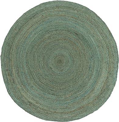 Artistic Weavers Brice 5' Round Area Rug, Teal Blue