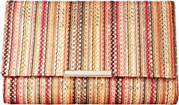 Nora Vertical Stripe Clutch