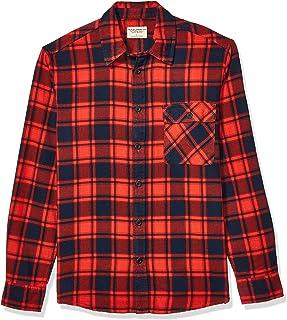 Nudie Unisex Sten Flannel Check Button Down Shirt