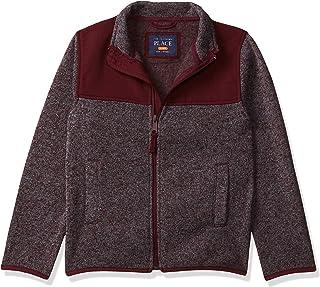 The Children's Place Big Boys' Fleece Trail Jacket