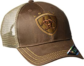 ARIAT Men's Oilskin Mesh Hat